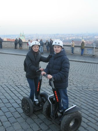 Segway Rent Prague : Visite de Prague en segway : GENIAL ! Merci Yann !