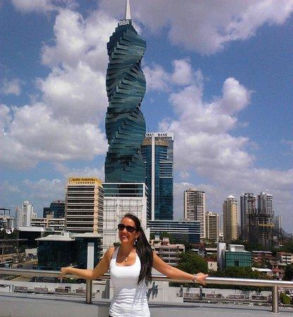 Hotel Riu Plaza Panama: en la terrraza