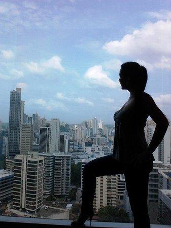 Hotel Riu Plaza Panama: Vista desde mi habitacion