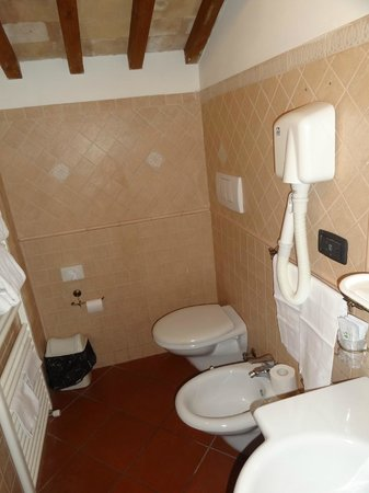 Domus Sessoriana Hotel: baño