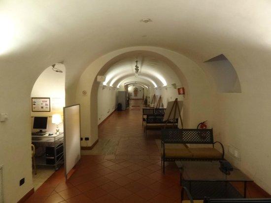 Domus Sessoriana Hotel: zona wifi