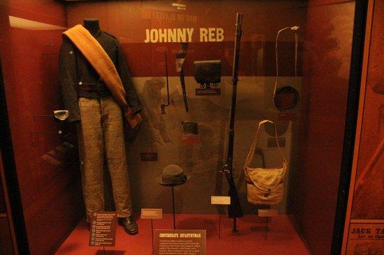 Centro de Visitantes y Museo Gettisburg: Johnny Reb