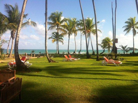 Casa Grande Beach Hotel : Vue depuis le restaurant