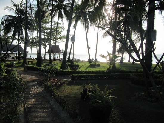 Lipa Lodge Beach Resort : view from the bungalow