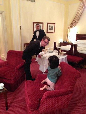 Villa d'Este : Room service