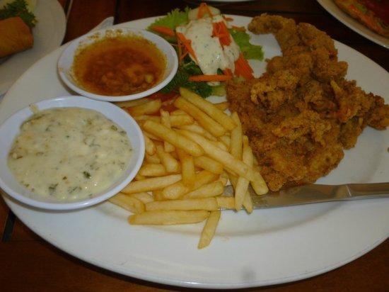 La Walon Hotel: plato completo