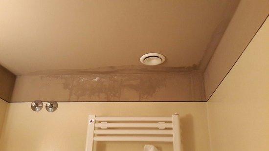 Hotel Hambros il Parco: Macchie di umido in bagno