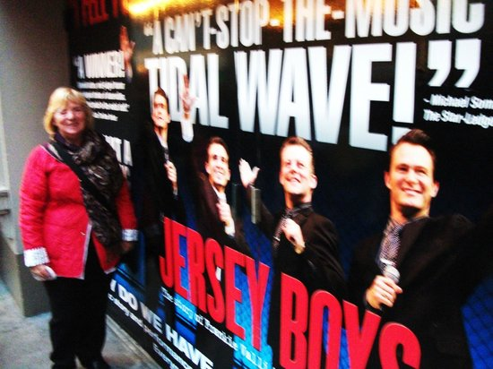 Jersey Boys: The end of a wonderful show.