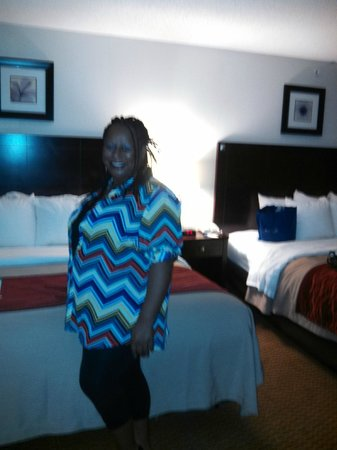 Comfort Inn And Suites : great rooms
