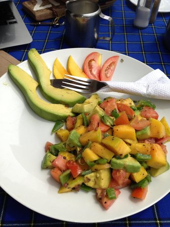 Ilboru Safari Lodge: Mango avocado salad.