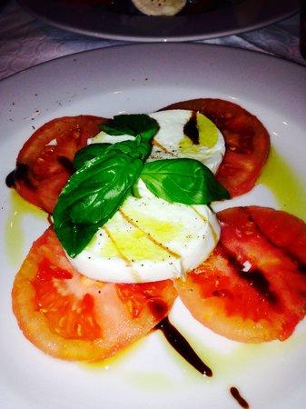 Restaurant Lumen: Tomates mozzarella