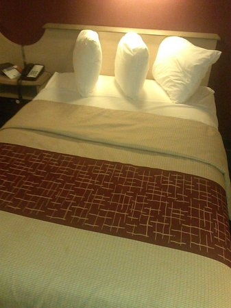Red Roof Inn Philadelphia Oxford Valley: Average Bed