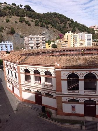 Hotel MS Maestranza: view from our balcony