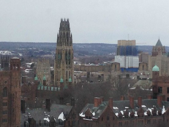 Omni New Haven Hotel at Yale: View from our room