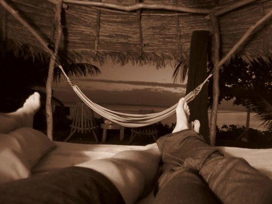 Al Natural Resort: View from our bed