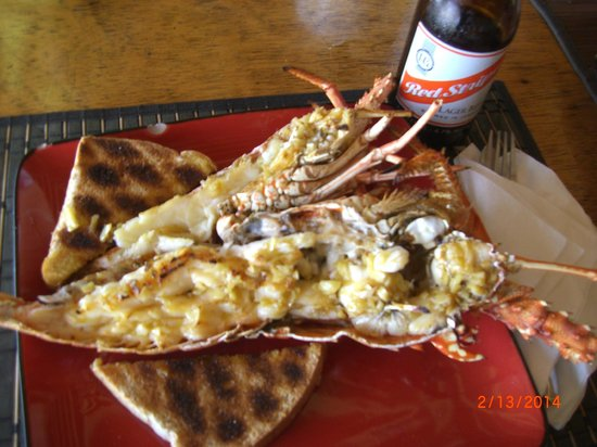 Fireman's Lobster Pit: Lunch