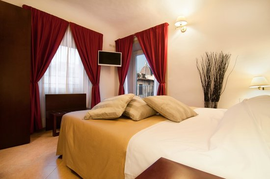 Hotel Cardinal of Florence: Double deluxe with balcony