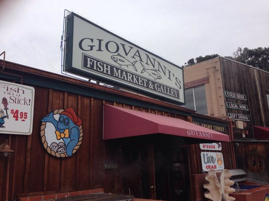 Front of restaurant picture of giovanni 39 s fish market for Giovanni s fish market