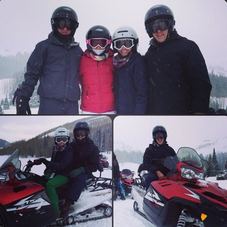 Red Pine Adventures: Snowmobiling in Park City!