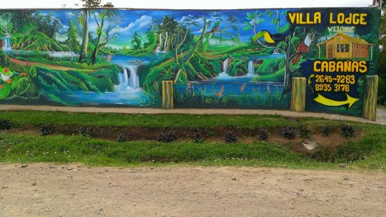 Monteverde Villa Lodge: Mural