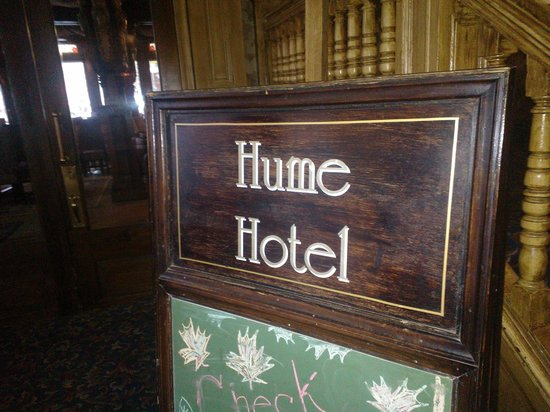 Hume Hotel & Spa : Step back in time...