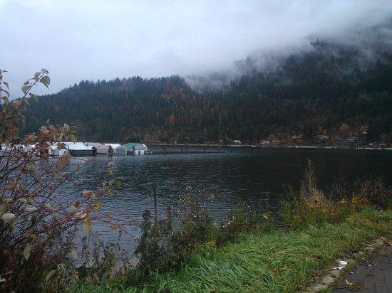 Hume Hotel & Spa : Beautiful Kootenay Lake - Nelson BC. A bit of a walk but worth it.