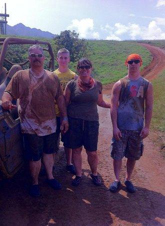 Kipu Ranch Adventures: Halfway through our tour