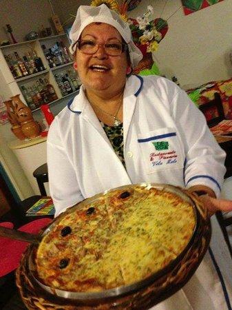 De Boa Pizzaria: pizza de atum