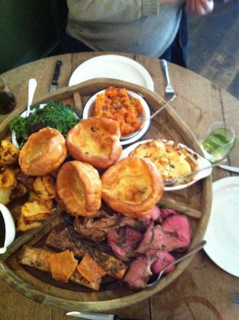 The Talbot Inn : Sunday lunch heaven