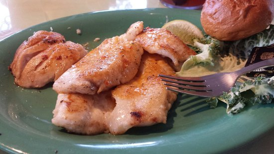 Mrs. Mac's Kitchen: Hogfish dinner