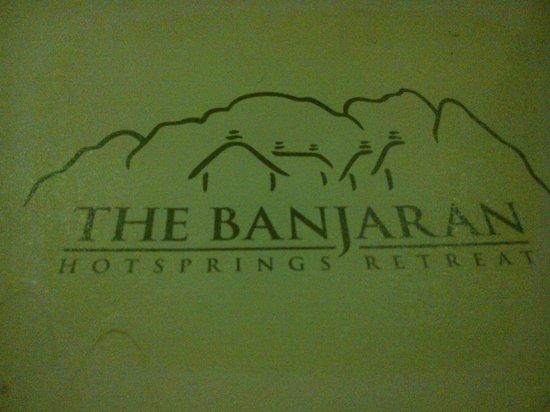 The Pomelo - The Banjaran Hotsprings Retreat : menu