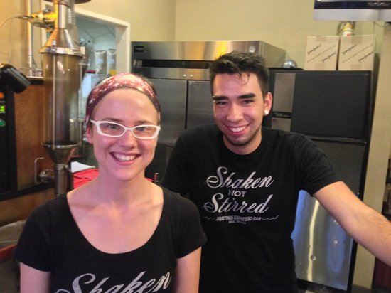 Javatinis Espresso & Gelato: Friendly Staff