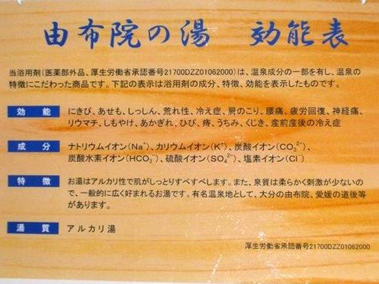 AB Hotel Mikawaanjo Minamikan: 本日の温泉は何かな?