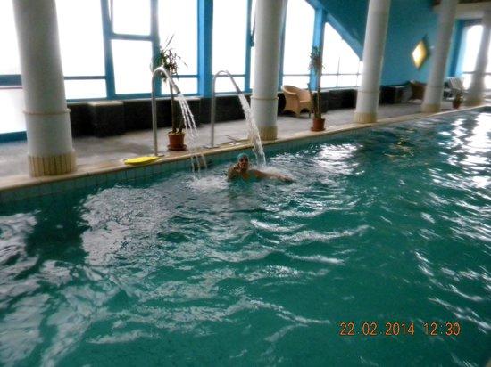 Hotel Alexander Palace : piscina termale interna