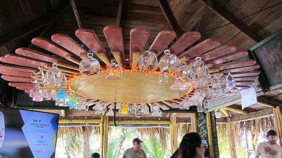 Sundowners: ceiling