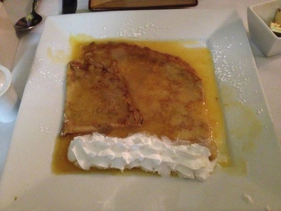 French Corner Bistro & Rotiserie: Crepe Suzette