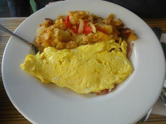 Green Kitchen Restaurant Great Omelette
