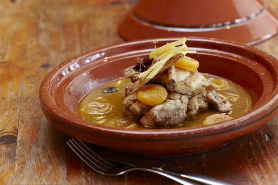 Kazbah Top Ryde: Chicken Tagine with Apricots