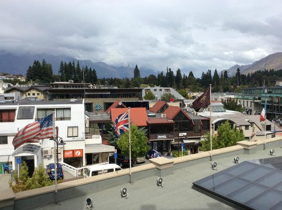 Sofitel Queenstown Hotel & Spa: View from 416