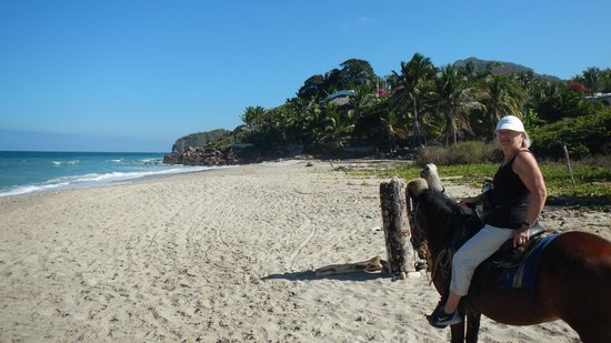 Painted Ponies: On the beach South of Sayulita