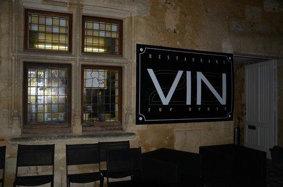 Le Vin Rue Neuve : La jolie façade
