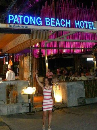 Patong Beach Hotel : Entrada