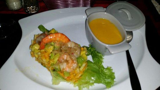 L'Hibiscus: Entrée du menu à 21€