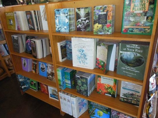 Amy B.H. Greenwell Ethnobotanical Garden: books in the store