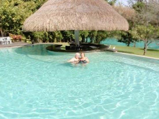 San Luis Potosi, Mexico: En La alberca, al fondo el río