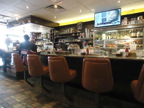 Silver Star Restaurant : il bancone...forse meglio del nostro tavolo!