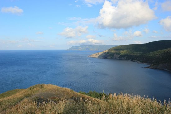 Meat Cove: View from close trail in NE direction