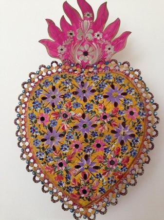 Hostal B&B Dos Fridas y Diego: Gorgeous Mexican folk art
