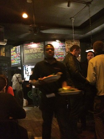Broome Street Bar : view from other side as you walk in