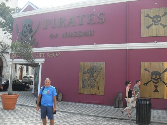 Pirates of Nassau Museum: entrada